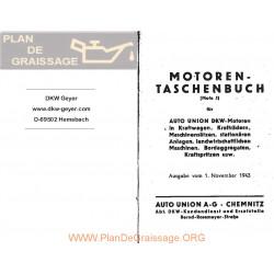 Dkw Datos Tecnicos Motores Aleman