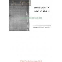 Dkw Rt 125 2h Manual Instrucciones Espanol