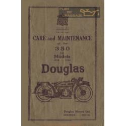 Douglas 350 1926 1930 Mintance