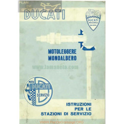 Ducati 100 125 175 200 Manual Y Libro Taller Italiano
