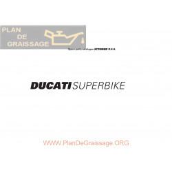 Ducati 1098 2007 Parts List