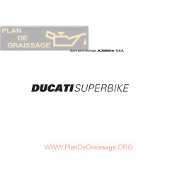 Ducati 1098 S 2008 Parts List