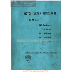 Ducati 125 Turismo Y Super 175 Turismo 200 Elite Y Turismo Manual Uso Y Entretenimiento