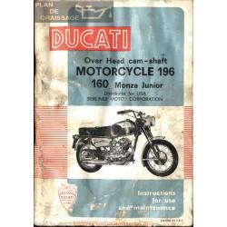 Ducati 160 Monza Jr Manual De Reparatie Intretinere