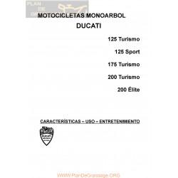 Ducati 175 Ts Monoarbol Manual Mantenimiento Y Usuario
