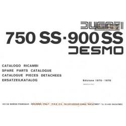 Ducati 1975 1976 750 900 Ss Parts List