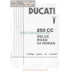 Ducati 250 De Luxe Road Y 24 Horas Manual