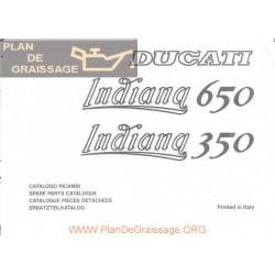 Ducati 350 650 Indiana Parts List