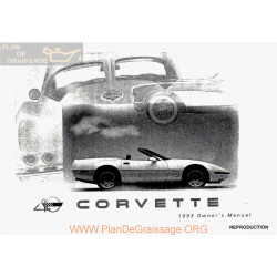 Chevrolet 1993 Corvette User Manual