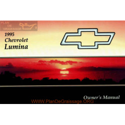 Chevrolet 1995 Lumina User Manual
