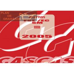Gasgas Fse Ec Sm 400 450 2005 Manual De Reparatie
