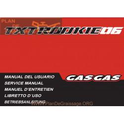 Gasgas Txt Rookie 2006 Manual De Reparatie