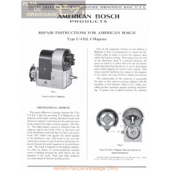General Bosch American Magneto Series U Ed4 Servicio Manual Ingles