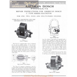 General Bosch American Magneto Series U Servicio Manual Ingles