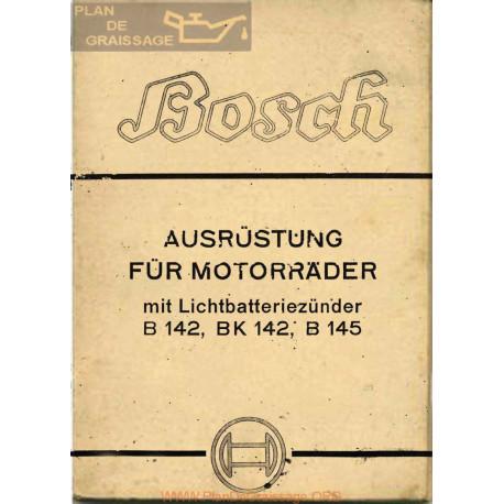 General Bosch Equipos Para Las Motocicletas Con La Luz De La Batería B142 Bk142 B145 Aleman