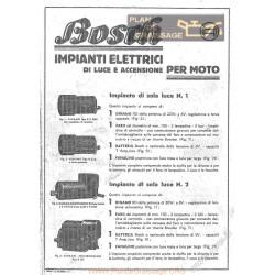 General Bosch Impianti Elettrici Di Luce E Accensione Per Moto