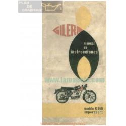 Gilera 150 G Super Sport Manual Usuario