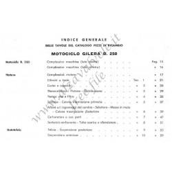 Gilera 300 B Cat Ricambi