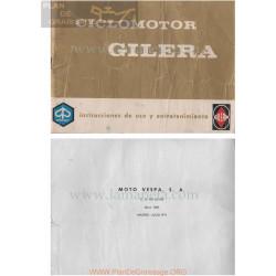 Gilera 49 Cc Manual Instrucciones