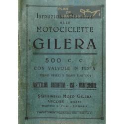 Gilera 500 Vt Vtgs 8 Bulloni Mu