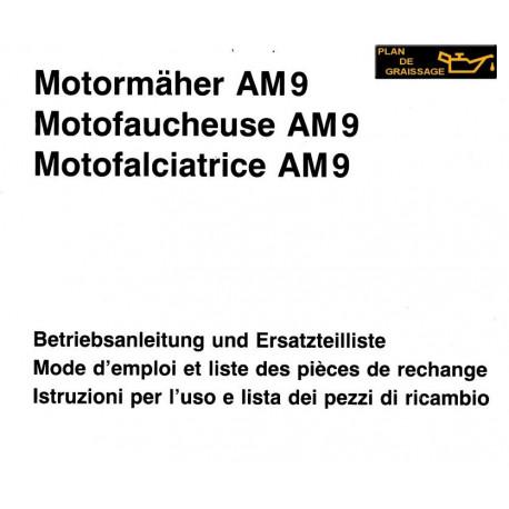 Aebi Motofaucheuse Am9