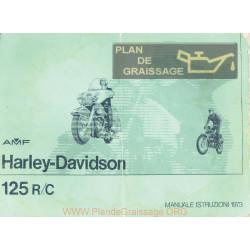 Harley Davidson 125 Rc Cagiva Mu 1973
