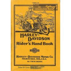 Harley Davidson 750 1935