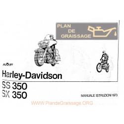 Harley Davidson Hd 350 Sssx Ma 1973