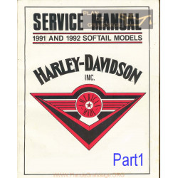 Harley Davidson Manual Repair Models 1991 A 1992 Part1
