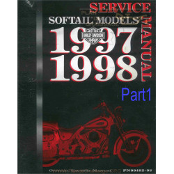 Harley Davidson Manual Service 1997 1998 Part1