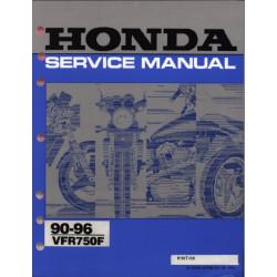 Honda Vfr 750 F 1990 1996 Manual De Reparatie