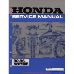 Honda Vfr 750f (90 96) Service Manual