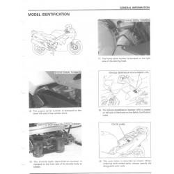 Honda Vfr 800 Fi Interceptor 1998 2001 Manual De Reparatie