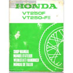 Honda Vt 250 F Ii Manual De Reparatie