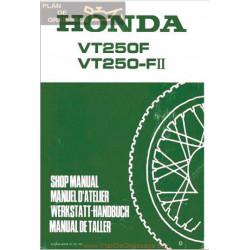 Honda Vt 250 F Manual De Reparatie