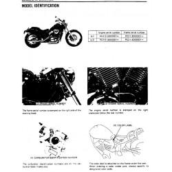 Honda Vt 600 C 1988 Manual De Reparatie