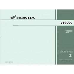 Honda Vt 600 C Pecas