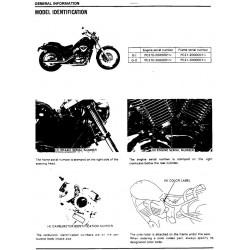 Honda Vt 600 C Service Manual 1988