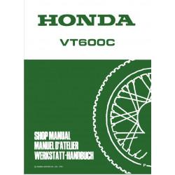 Honda Vt 600 C Service Manual Addendum 1993 1994