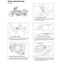 Honda Vt 600 C Vt600 Cd 1997 2001 Manual De Reparatie
