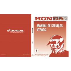 Honda Vt 600 Manual De Servicos