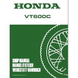 Honda Vt 600 Manuel D Atellier 1994