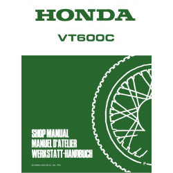 Honda Vt 600c Shop Manual