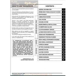 Honda Xl 1000 V Varadero Service Manual En