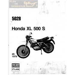 Honda Xl 500 1979 5028 Manual De Reparatie