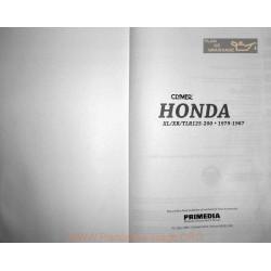 Honda Xl Xr Tlr 125 200 200 R 1979 1987 Manual De Reparatie