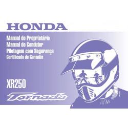 Honda Xr 250 Tornado Proprietario