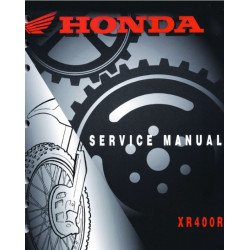 Honda Xr 400r Service Manual