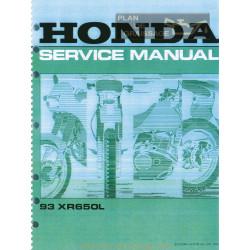 Honda Xr 650l Service Manual 1993