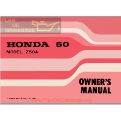 Honda Z50a K4 1972 Owners